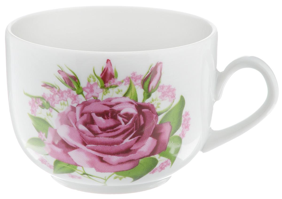 Чашка чайная Фарфор Вербилок Август. Розовые бутоны, 300 мл767106Кружка Фарфор Вербилок Август. Розовые бутоны способна скрасить любое чаепитие. Изделие выполнено из высококачественного фарфора. Посуда из такого материала позволяет сохранить истинный вкус напитка, а также помогает ему дольше оставаться теплым. Диаметр по верхнему краю: 8,5 см. Высота кружки: 6 см. Объем кружки: 300 мл.
