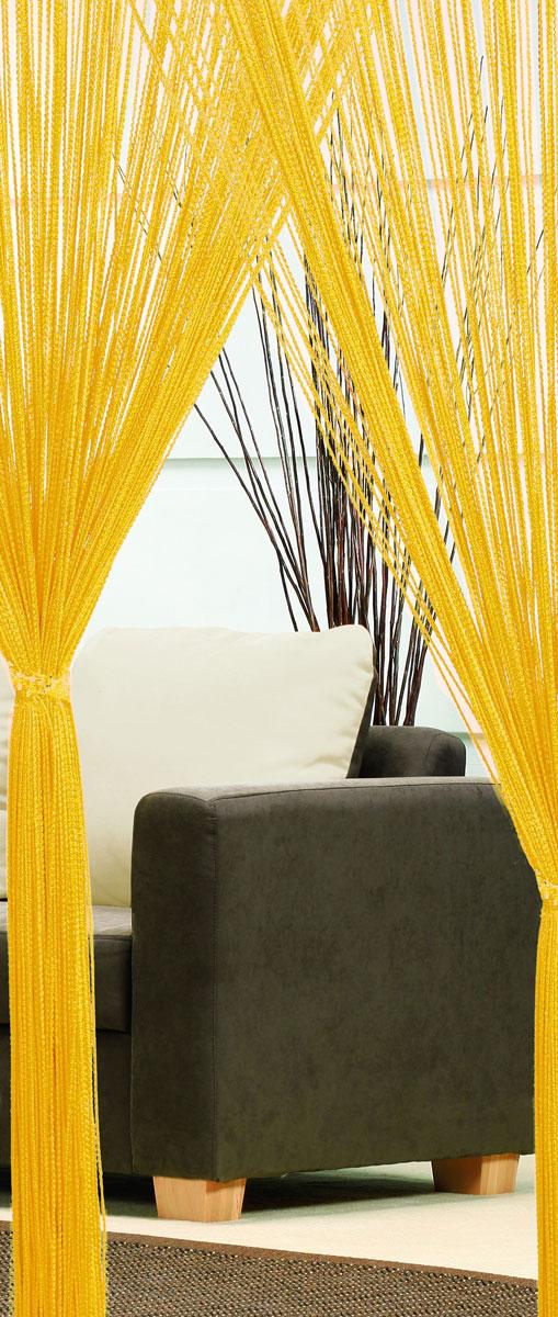 Гардина-лапша Haft, на кулиске, цвет: желтый, высота 250 см. 4699046990/90 желтыйЛегкая гардина-лапша на кулиске Haft, изготовленная из полиэстера, станет великолепным украшением любого окна. Оригинальный дизайн и приятная цветовая гамма привлекут к себе внимание и органично впишутся в интерьер комнаты. К изделию прилагается удобный мешок для стирки на стяжке.