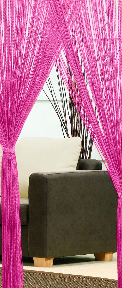 Гардина-лапша Haft, на кулиске, цвет: розовый, высота 250 см. 4699046990/90 розовыйЛегкая гардина-лапша на кулиске Haft, изготовленная из полиэстера, станет великолепным украшением любого окна. Оригинальный дизайн и приятная цветовая гамма привлекут к себе внимание и органично впишутся в интерьер комнаты. К изделию прилагается удобный мешок для стирки на стяжке.