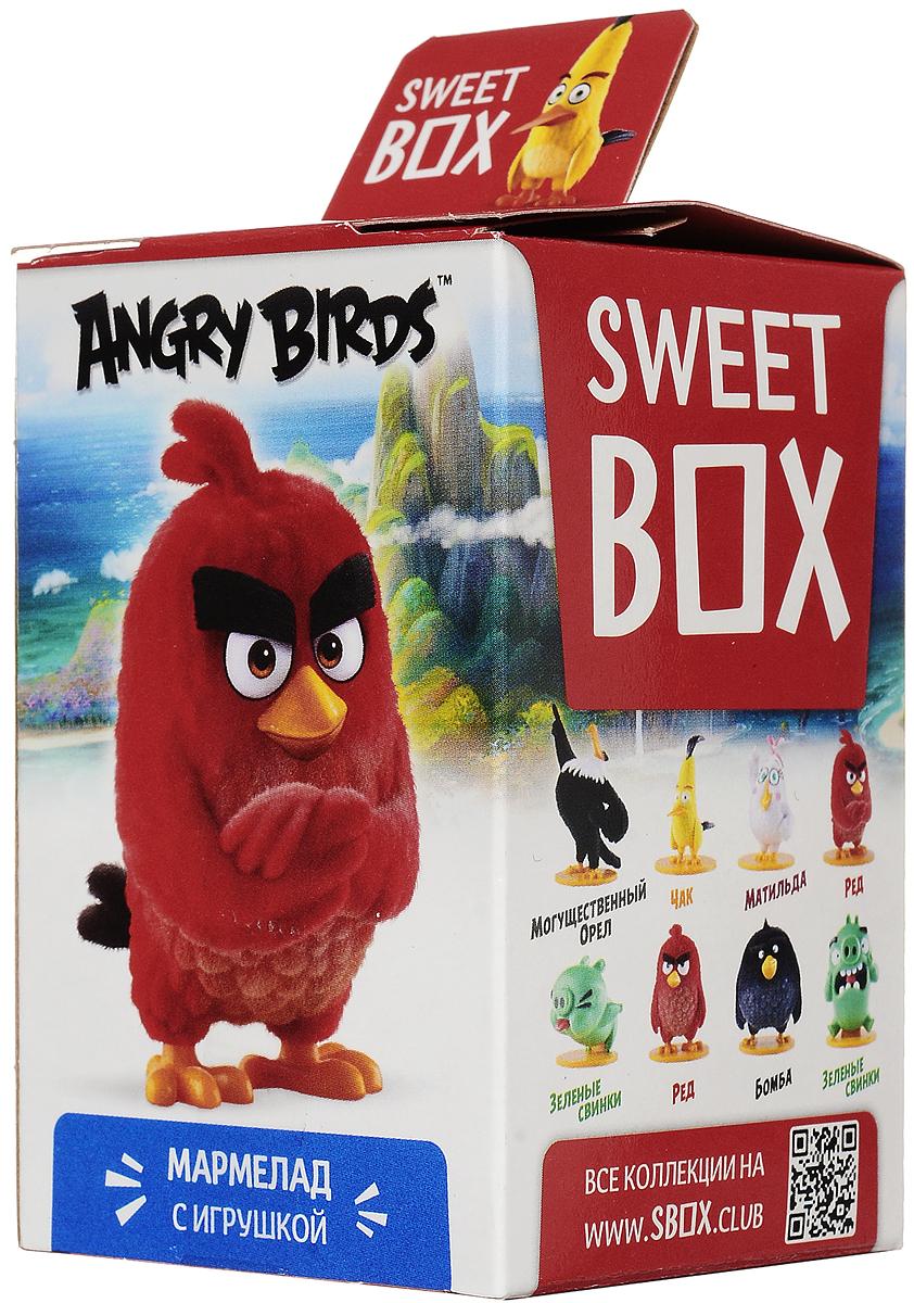 Sweet Box Angry Birds Movie мармелад жевательный с игрушкой, 10 гУТ18761Sweet Box Angry Birds Movie - коллекционная игрушка со сладким сюрпризом. Герои знаменитого противостояния, персонажи популярной компьютерной игры. Узнайте все тайны птичек и свинок! Соберите всю коллекцию! Внимание! Игрушка предназначена для детей старше 3-х лет.