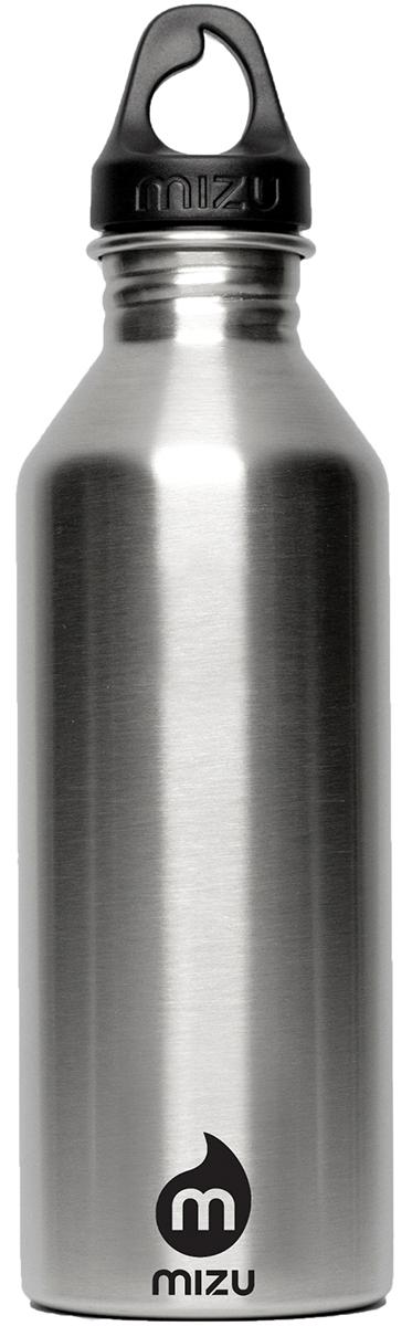 Бутылка для воды Mizu M8, цвет: черный, 800 млM08AMZANSBAБутылка из пищевой нержавеющей стали для тех, кто заботится об окружающей среде и своем здоровье. Объем: 800 мл. Обхват: 24 см. Диаметр: 7 см. Высота (с крышкой): 26 см.