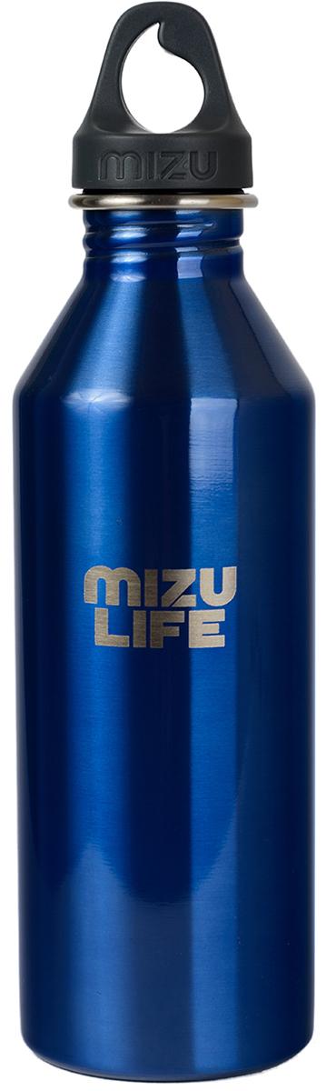 Бутылка для воды Mizu M8, цвет: голубой, серый, 800 млM08AMZAQUAБутылка из пищевой нержавеющей стали для тех, кто заботится об окружающей среде и своем здоровье. Объем: 800 мл. Обхват: 24 см. Диаметр: 7 см. Высота (с крышкой): 26 см.