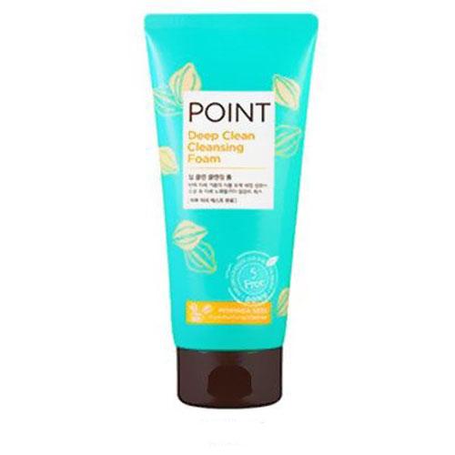 Point Пенка для умывания, для всех типов кожи, 175 г984000Пенка Point для умывания содержит органические очищающие компоненты - сапонины, которые создают обильную, мягкую пену, нежно и бережно очищают кожу, не вызывая раздражение. Эффективно удаляет загрязнения и макияж, не допуская их повторного впитывания. Антиоксидантные свойства экстрактов лотоса, юкки и др. защищают кожу от преждевременного старения. Кожа обретает свежий, безупречный, сияющий вид. Не содержит красители, спирты, бензофенон, тальк и другие вредные ингредиенты.