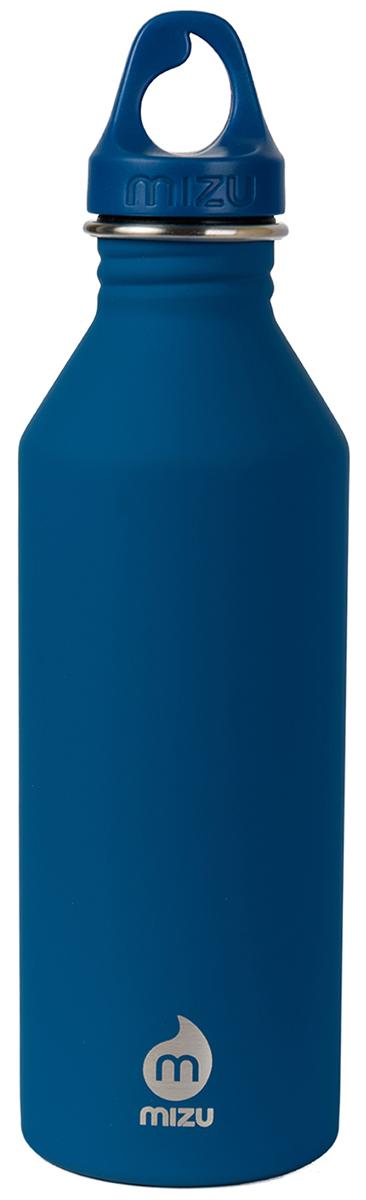 Бутылка для воды Mizu M8, цвет: голубой, 800 млM08AMZASLAБутылка из пищевой нержавеющей стали для тех, кто заботится об окружающей среде и своем здоровье. Объем: 800 мл. Обхват: 24 см. Диаметр: 7 см. Высота (с крышкой): 26 см.
