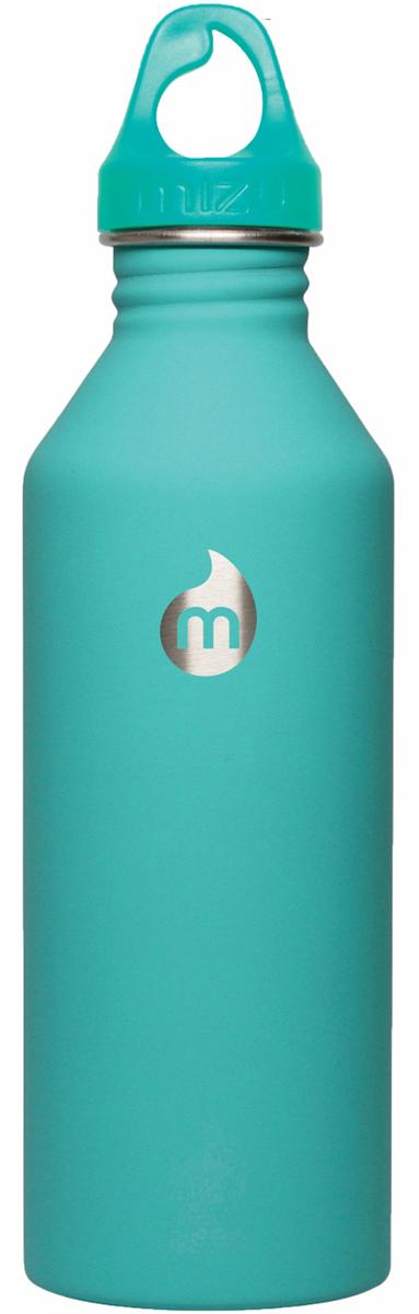Бутылка для воды Mizu M8, цвет: ментоловый, 800 млM08AMZASMAБутылка из пищевой нержавеющей стали для тех, кто заботится об окружающей среде и своем здоровье. Объем: 800 мл. Обхват: 24 см. Диаметр: 7 см. Высота (с крышкой): 26 см.