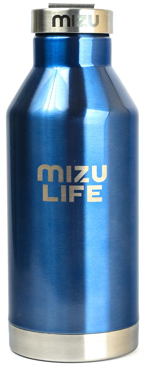 Термобутылка для жидкостей Mizu V6, цвет: голубой, 600 млV06AMZAQUAБутылка термос из пищевой нержавеющей стали для тех, кто заботится об окружающей среде и своем здоровье. Объем: 600 мл. Диаметр: 7, 5 см. Обхват: 25, 2 см. Высота (с крышкой): 21, 5 см. Нержавеющая крышка из стали с кольцом Сохраняет горячее до 12 часов и холодное до 18 часов. Сохраняет температуру .Не содержит вредного BPA .Многоразовое использование. Материал: пищевая нержавеющая сталь сорта 18/8.