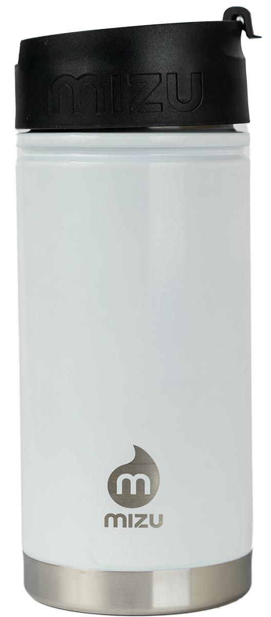 Термобутылка для жидкостей Mizu V5, цвет: глянцево белый, 500 млVW05AMZAGWCLБутылка Mizu V5 создана для тех, кто любит взять с собой на работу, например, кофе из дома. У этой модели есть две вариации крышек в зависимости от расцветки - теплоизоляционная стальная и кофейная крышка с дозатором, поэтому такую бутылку можно использовать и как термо-кружку, и как практичный походный термос. Объем: 500 мл. Диаметр: 7,5 см. Высота (с крышкой): 12,6 см. Вес: 263 гр. Нержавеющая сталь 18/8