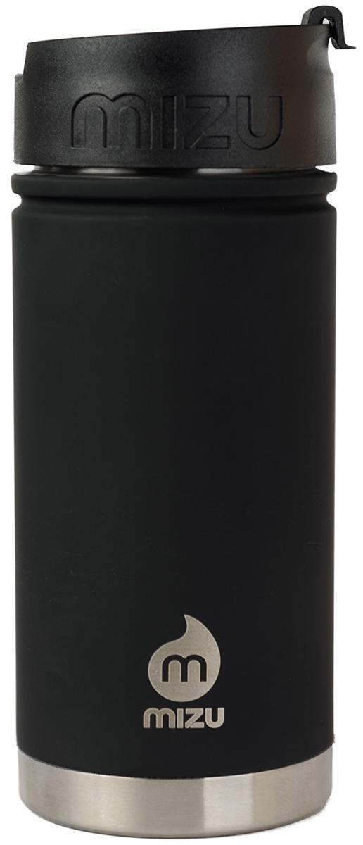 Термобутылка для жидкостей Mizu V5, цвет: черный, 500 млVW05AMZASBCLБутылка Mizu V5 создана для тех, кто любит взять с собой на работу, например, кофе из дома. У этой модели есть две вариации крышек в зависимости от расцветки - теплоизоляционная стальная и кофейная крышка с дозатором, поэтому такую бутылку можно использовать и как термо-кружку, и как практичный походный термос. Объем: 500 мл. Диаметр: 7,5 см. Высота (с крышкой): 12,6 см. Вес: 263 гр. Нержавеющая сталь 18/8