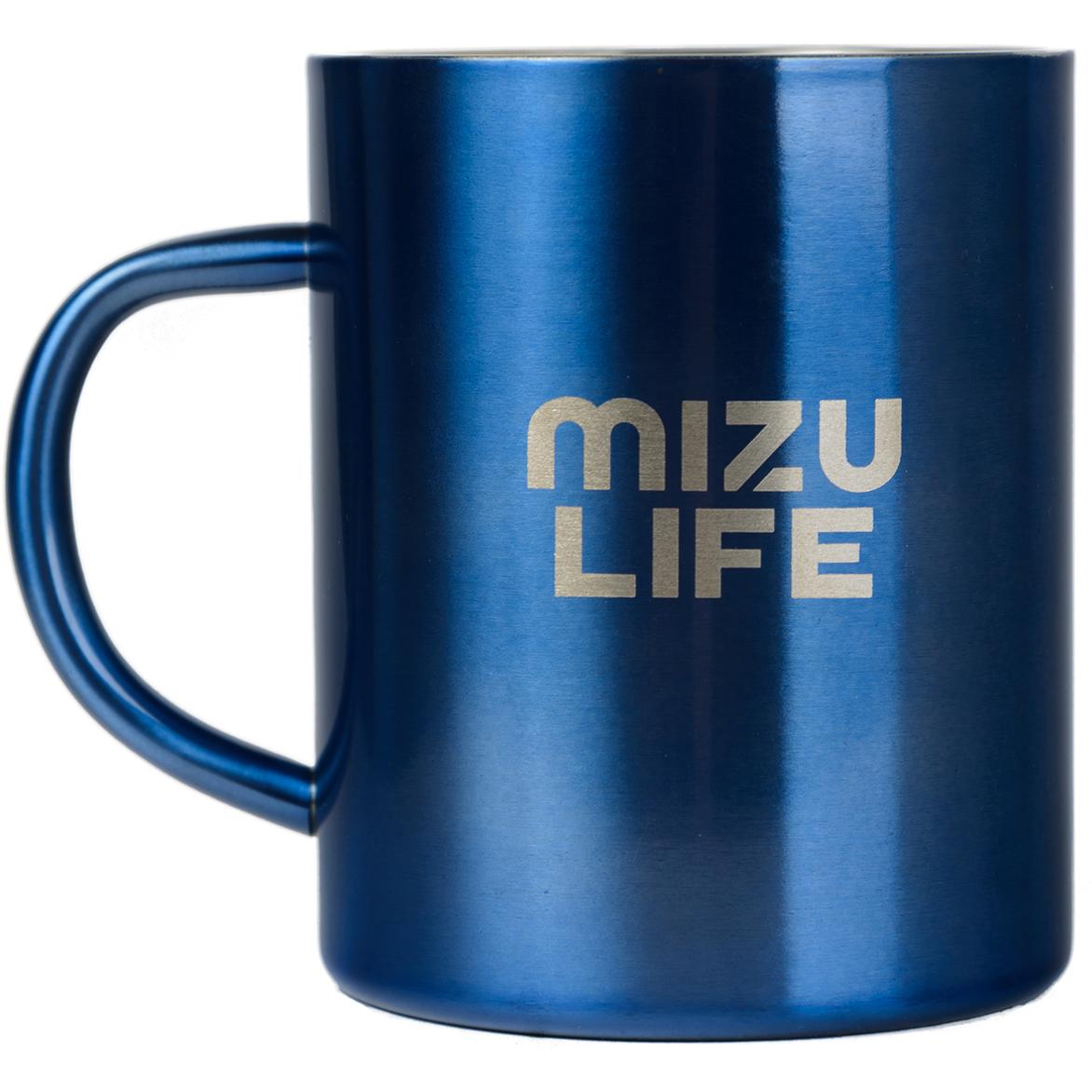Термокружка Mizu, цвет: голубой, 420 млW01AMZACCQUAКружка из пищевой нержавеющей стали с фирменным логотипом MIZU Объем: 420 мл. Диаметр: 8, 5 см.