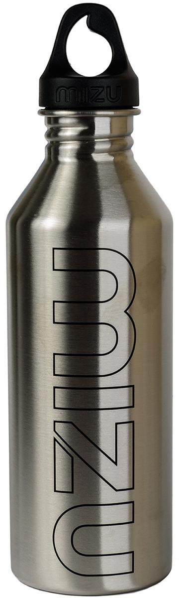 Бутылка для воды Mizu M8, цвет: стальной, 800 млZ-M08AMZAБутылка из пищевой нержавеющей стали для тех, кто заботится об окружающей среде и своем здоровье. Объем: 800 мл. Обхват: 24 см. Диаметр: 7 см. Высота (с крышкой): 26 см.