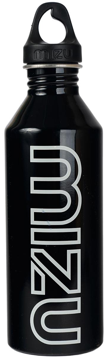 Бутылка для воды Mizu M8, цвет: глянцево черный, 800 млZ-M08AMZAБутылка из пищевой нержавеющей стали для тех, кто заботится об окружающей среде и своем здоровье. Объем: 800 мл. Обхват: 24 см. Диаметр: 7 см. Высота (с крышкой): 26 см.