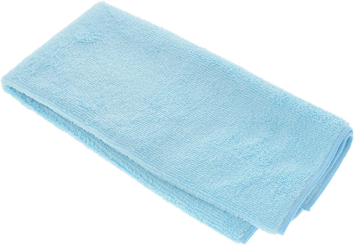 Салфетка чистящая Sapfire Large & Soft, цвет: голубой, 60 х 50 смSFM-3011_голубойЧистящая салфетка Sapfire Large & Soft выполнена из микрофибры (85% полиэстер, 15% полиамид). Каждая нить после специальной химической обработки расщепляется на 12-16 клиновидных микроволокон. Микрофибровое полотно удаляет грязь с поверхности намного эффективнее, быстрее и значительно более бережно в сравнении с обычной тканью, что существенно снижает время на проведение уборки, поскольку отсутствует необходимость протирать одно и то же место дважды. Салфетка обладает уникальной способностью быстро впитывать большой объем жидкости. Клиновидные микроскопические волокна захватывают и легко удерживают частички пыли, жировой и никотиновый налет, микроорганизмы, в том числе болезнетворные и вызывающие аллергию. Благодаря своей сетчатой структуре, легко удаляет с твердых поверхностей засохшую грязь, смолу и почки деревьев, прилипших насекомых. Протертая поверхность становится идеально чистой, сухой, блестящей, без разводов и ворсинок. ...