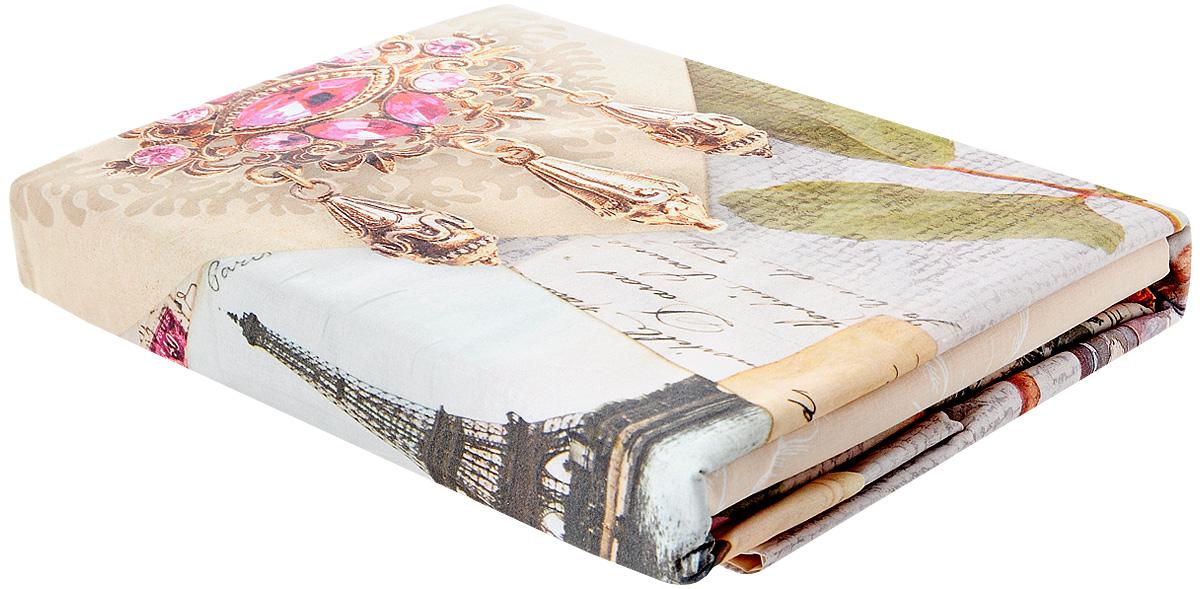 Комплект белья Волшебная ночь Vintage, 1,5-спальный, наволочки 70x70, цвет: бежевый, розовый, золотой702099Роскошный комплект постельного белья Волшебная ночь Vintage выполнен из натурального ранфорса (100% хлопка) и украшен оригинальным рисунком. Комплект состоит из пододеяльника, простыни и двух наволочек. Ранфорс - это новая современная гипоаллергенная ткань из натуральных хлопковых волокон, которая прекрасно впитывает влагу, очень проста в уходе, а за счет высокой прочности способна выдерживать большое количество стирок. Высочайшее качество материала гарантирует безопасность. Доверьте заботу о качестве вашего сна высококачественному натуральному материалу.