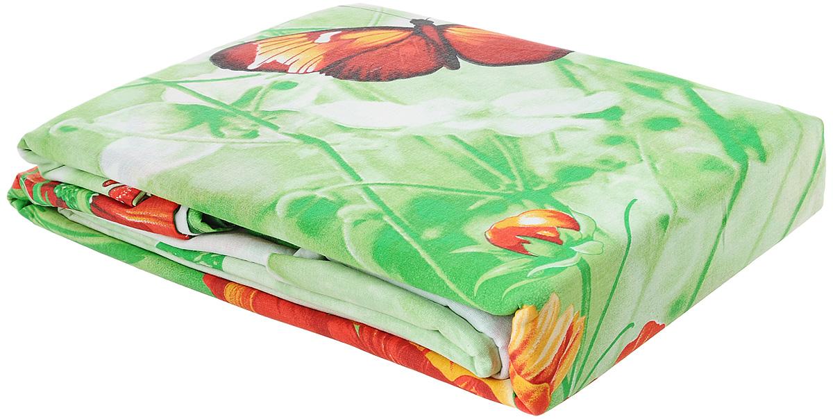 Комплект белья Amore Mio Lug, семейный, наволочки 70x70, цвет: белый, красный, зеленый80876Комплект постельного белья Amore Mio Lug является экологически безопасным для всей семьи, так как выполнен из бязи (100% хлопок). Комплект состоит из двух пододеяльников, простыни и двух наволочек. Постельное белье оформлено оригинальным рисунком и имеет изысканный внешний вид. Легкая, плотная, мягкая ткань отлично стирается, гладится, быстро сохнет. Рекомендации по уходу: Химчистка и отбеливание запрещены. Рекомендуется стирка в прохладной воде при температуре не выше 30°С.