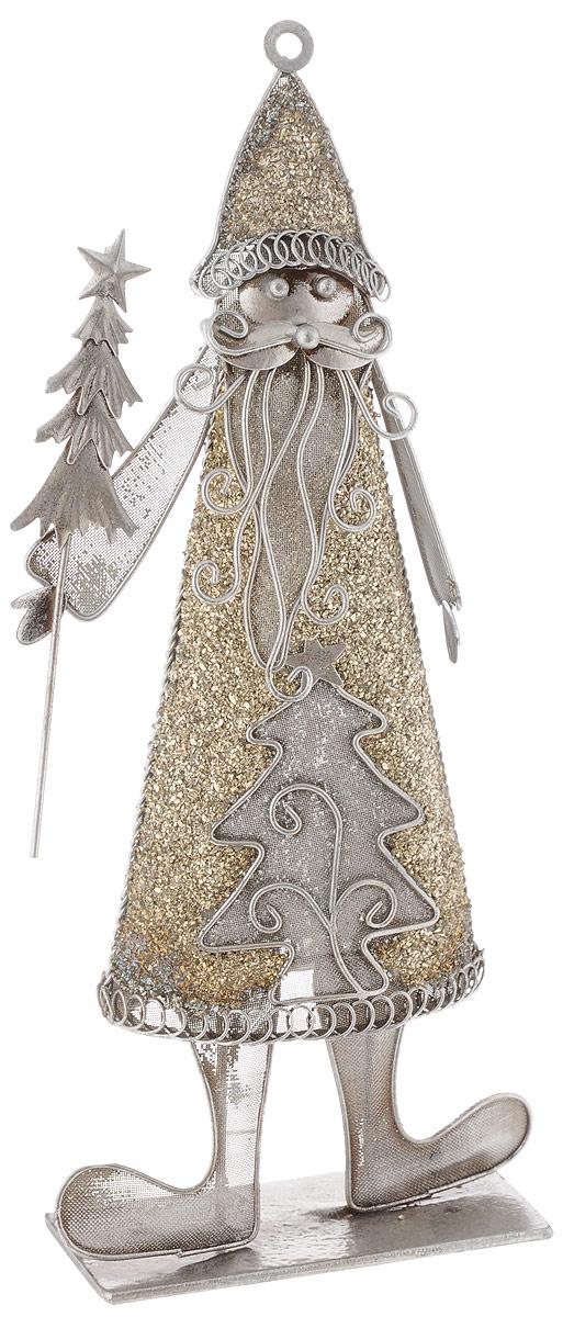 Фигурка новогодняя House & Holder Дед Мороз, высота 32,5 см01614-2Фигурка новогодняя House & Holder Дед Мороз прекрасно подойдет для праздничного декора вашего дома. Изделие выполнено из металла в виде Деда Мороза. Такое оригинальное украшение оформит интерьер вашего дома или офиса в преддверии Нового года. Оригинальный дизайн и красочное исполнение создадут праздничное настроение. Кроме того, это отличный вариант подарка для ваших близких и друзей.