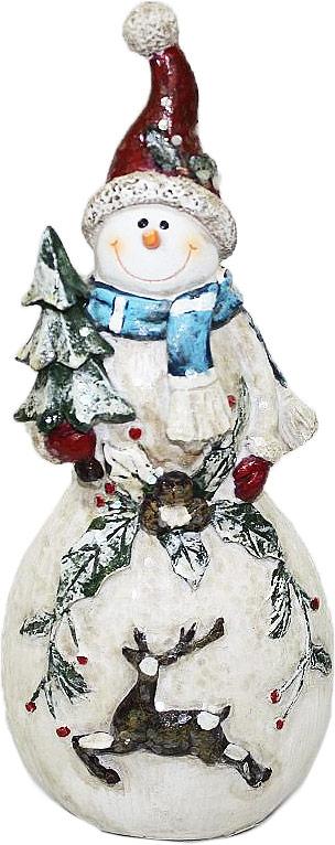 Фигурка декоративная Family & Friends Снеговик. 10011081001108