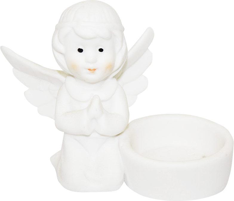 Подсвечник Lillo Ангел, со свечой, высота 8,5 см. YLQ 10764YLQ 10764Подсвечник Lillo Ангел, выполненный из керамики, украсит интерьер вашего дома или офиса. Оригинальный дизайн и красочное исполнение создадут праздничное настроение. Подсвечник выполнен в форме ангела, сидящего около небольшой чашечки. Внутри чашечки - парафиновая свеча. Вы можете поставить подсвечник в любом месте, где он будет удачно смотреться, и радовать глаз. Кроме того - это отличный вариант подарка для ваших близких и друзей в преддверии Нового года.