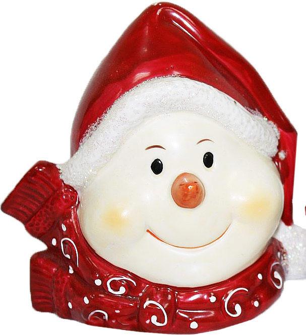 Подсвечник Lillo, цвет: красный, белый, высота 12,5 см20111206Подсвечник Lillo, выполненный из керамики, украсит интерьер вашего дома или офиса. Оригинальный дизайн и красочное исполнение создадут праздничное настроение. Подсвечник выполнен в форме снеговика. Вы можете поставить подсвечник в любом месте, где он будет удачно смотреться, и радовать глаз. Кроме того - это отличный вариант подарка для ваших близких и друзей в преддверии Нового года.