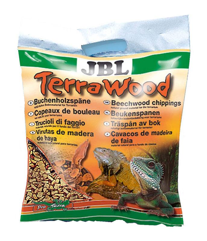Буковая щепа JBL TerraWood, натуральный донный субстрат для сухих и полусухих террариумов, 5 лJBL7101600JBL TerraWood - Буковая щепа, натуральный донный субстрат для сухих и полусухих террариумов, 5 л.