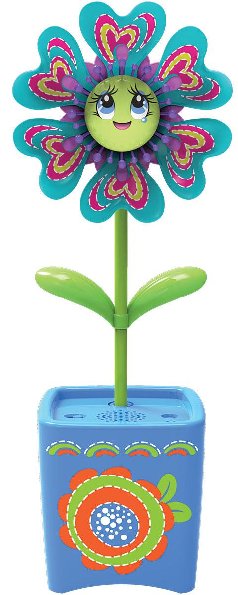 Magic Blooms Интерактивная игрушка Волшебный цветок с заколкой для волос и волшебным жучком88445Интерактивная игрушка Magic Blooms Волшебный цветок с заколкой для волос и волшебным жучком станет отличным подарком для каждой девочки! Интерактивный цветок может петь и танцевать, двигаться в такт мелодии. Цветочек реагирует на прикосновения и голос. Имеет функцию повтора слов. Цветочек может быть дополнен забавными жучками, что расширяет функционал. Необходимо дотронуться до антенны жучка (в виде усиков), чтобы услышать жужжание и увидеть, как жучок машет крыльями. Пение жучка сопровождается световыми эффектами. Соединив несколько цветов, можно устроить цветочный хор. Цветочки могут раскачиваться, а также двигать лепестками и открывать рот. В набор входят цветочек, лейка, жучок и заколка для волос. Для работы цветочка рекомендуется докупить 3 батарейки типа AAA (комплектуется демонстрационными). Для работы жучка рекомендуется докупить 2 батарейки типа LR44 (комплектуется демонстрационными).
