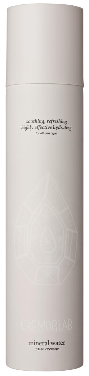 Cremorlab T.E.N. Cremor Mineral Water / Термальная вода, 300 мл61188Спрей на основе уникальной термальной воды из источника Гымчин (Корея) эффективно успокаивает, уменьшает покраснения и раздражения, а также глубоко увлажняет кожу. Оказывает выраженное регенерирующее действие, существенно улучшает состояние чувствительной кожи и способствует восстанавлению водного баланса. Вода обогащена экстрактами Алое вера, зеленого чая, плодов шиповника , центеллы азиатской, цветков орхидеи, гаммамелиса и соевых бобов, которые дополняют и усиливают действие средства в области увлажнения, восстановления и питания кожи. Подходит для всех типов и состояний кожи.