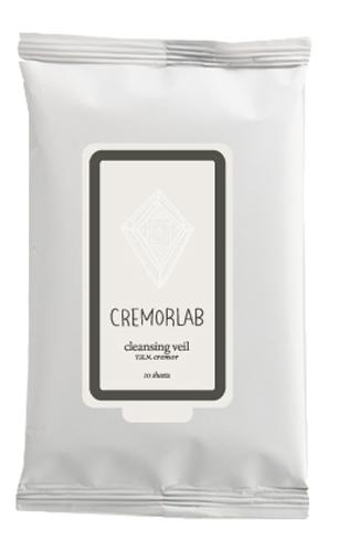 Cremorlab T.E.N. Cremor Cleansing Veil / Салфетки для снятия макияжа, 10 шт69047Прекрасно и быстро удаляют следы любого макияжа, снимая раздражения и оставляя кожу увлажненной уже на этапе очищения. Входящие в состав водные и растительные ингредиенты, мгновенно впитываются, глубоко питают и прекрасно сохраняются кожей, восстанавливают ее структуру и водно-жировой баланс. Не содержит искусственных ароматизаторов, минеральных масел и парабенов. Подходит для всех типов и состояний кожи. Количество: 10 штук