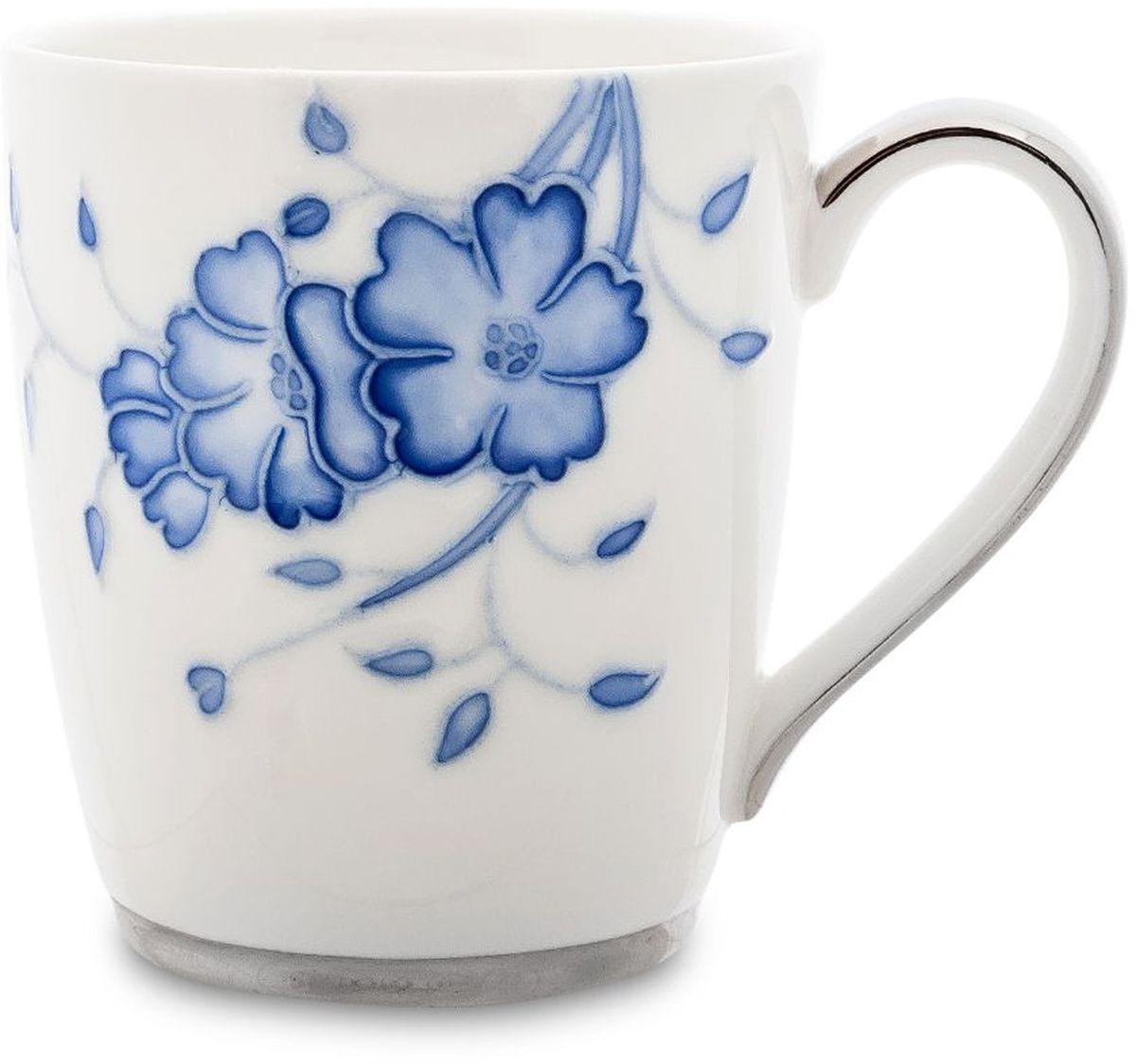Кружка Pavone Голубая бабочка, 300 мл. 451605451605Высота: 9 см