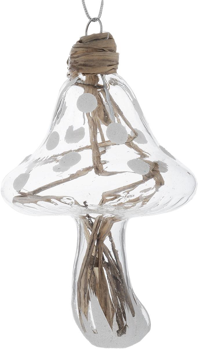 Украшение новогоднее подвесное Winter Wings Гриб, 6 х 5 х 9 смN07978Новогоднее подвесное украшение Winter Wings Гриб выполнено из стекла и соломы. С помощью специальной петельки украшение можно повесить в любом понравившемся вам месте. Но, конечно, удачнее всего оно будет смотреться на праздничной елке. Елочная игрушка - символ Нового года. Она несет в себе волшебство и красоту праздника. Создайте в своем доме атмосферу веселья и радости, украшая новогоднюю елку нарядными игрушками, которые будут из года в год накапливать теплоту воспоминаний. Размер: 6 х 5 х 9 см.