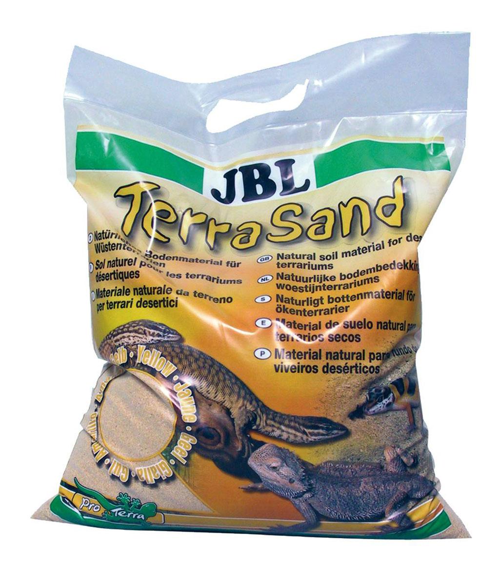 Донный грунт JBL TerraSand для сухих террариумов, цвет: натуральный желтый, 5 лJBL7101800JBL TerraSand natur-gelb - Донный грунт для сухих террариумов, цвет натуральный желтый, 5 л.