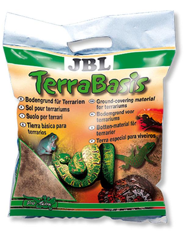 Донный грунт для влажных и полувлажных террариумов JBL TerraBasis, 20 лJBL7101200JBL TerraBasis - Донный грунт для влажных и полувлажных террариумов, 20 л.