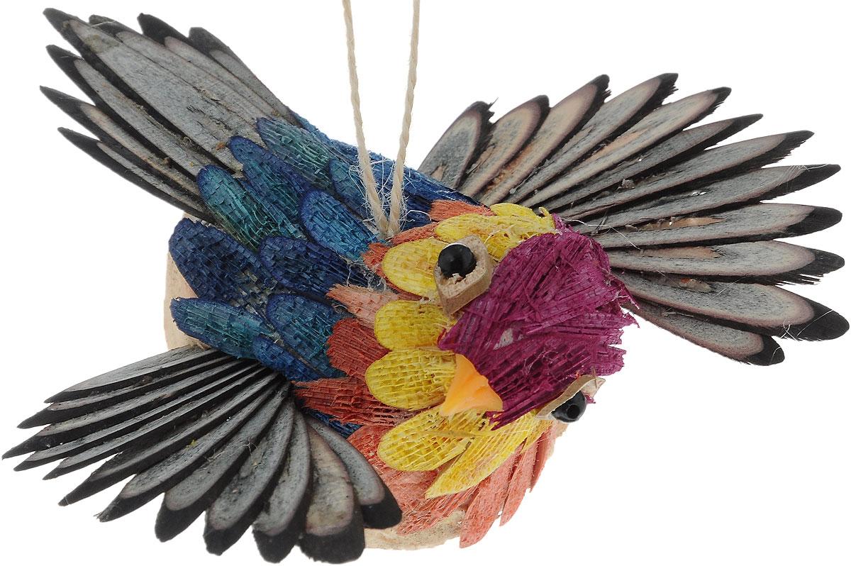 Украшение новогоднее подвесное Winter Wings Птичка, 12 х 11,5 смN181393Новогоднее подвесное украшение Winter Wings Птичка выполнено из соломы. С помощью специальной петельки украшение можно повесить в любом понравившемся вам месте. Но, конечно, удачнее всего оно будет смотреться на праздничной елке. Елочная игрушка - символ Нового года. Она несет в себе волшебство и красоту праздника. Создайте в своем доме атмосферу веселья и радости, украшая новогоднюю елку нарядными игрушками, которые будут из года в год накапливать теплоту воспоминаний. Размер: 12 х 11,5 х 5,5 см.