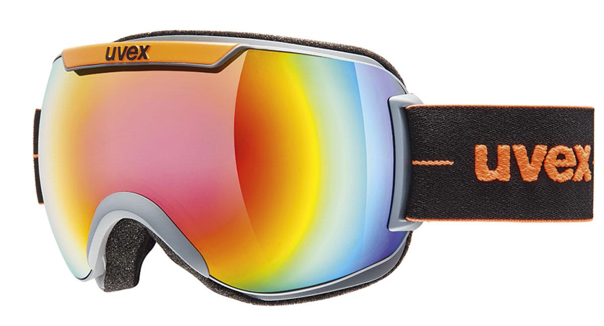 Маска горнолыжная Uvex Downhill 2000 FM, цвет: оранжевый0115-5026Маска для катания на горных лыжах или сноуборде с отличным обзором благодаря большой линзе и конструкции без оправы. Снег больше не налипает на маску, а просто соскальзывает с нее. Линза c зеркальным покрытием обеспечивает 100% защиту от UVA, -B, -C. Покрытие Supravision® от запотевания. Комфортный пенный уплотнитель. Сделано в Германии. Погодные условия Переменная облачность Защита от УФ Да Цвет основной линзы Синий Поляризация Нет Вентиляция Да Покрытие анти-фог Да Совместимость со шлемом Да Материал линзы Поликарбонат Материал оправы Полиуретан Конструкция линзы Двойная Форма линзы Сферическая Возможность замены линзы Есть