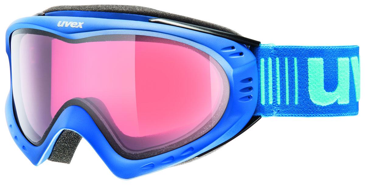 Маска горнолыжная Uvex F 2 Ski, цвет: синий0053-4022Маска среднего размера с классическим дизайном. Новая концепция uvex stimu lens - цвет линзы под настроение. Розовая линза релакс - усиливает контрастность даже при плохом освещении, идеально подходит для неровных спусков. Обеспечивает 100% защиту от UVA, -B, -C. Двойная поликарбонатная линза с покрытием Supravision® от запотевания. Вентиляция по оправе. Комфортный пенный уплотнитель. Сделано в Германии. Погодные условия Облачно, туман, искусственное освещение Защита от УФ Да Цвет основной линзы Розовый Поляризация Нет Вентиляция Да Покрытие анти-фог Да Совместимость со шлемом Да Материал линзы Поликарбонат Материал оправы Полиуретан Конструкция линзы Двойная Форма линзы Цилиндрическая Возможность замены линзы Есть