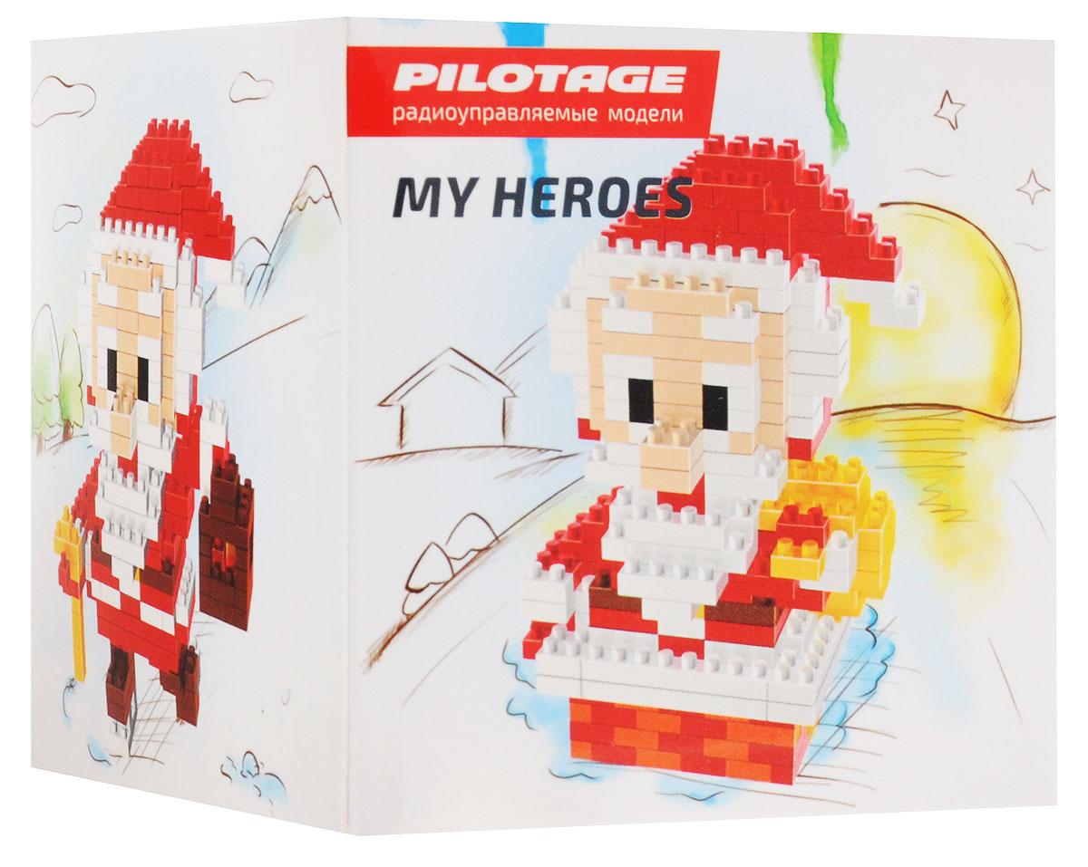Pilotage Конструктор Santa Claus 3 в 1RC18331Конструкторы серии My Heroes представляют новый принцип конструирования различных фигурок и моделей, которые собираются без использования клея из маленьких разноцветных кубиков. Такой набор не только предоставит возможность поставить на полочку необычную фигурку или фантастическую модель, но и развить навыки мелкой моторики и внимательность. Теперь у вас появится возможность собрать любимого героя в популярном пиксельном (8-битном) стиле. Конструктор Pilotage Santa Claus включает в себя 262 детали для сборки и подробную инструкцию.
