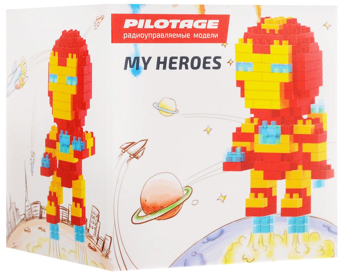 Pilotage Конструктор Iron Man 3 в 1RC18338Конструктор Pilotage Iron Man. 3 в 1 из серии «My Heroes» представляет новый принцип конструирования различных фигурок и моделей, которые собираются без использования клея из маленьких разноцветных кубиков. Такой набор не только предоставит возможность поставить на полочку необычную фигурку или фантастическую модель, но и развить навыки мелкой моторики и внимательность. В комплекте с конструктором идет подробная и понятная инструкция для сборки.Теперь у вас есть возможность собрать любимого героя в популярном пиксельном (8-битном) стиле.
