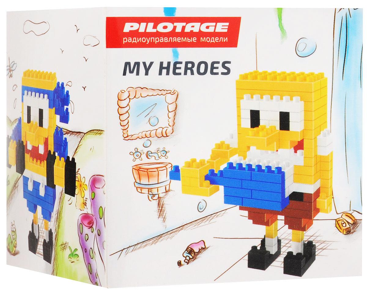 Pilotage Конструктор SpongeBob 3 в 1RC18335Конструкторы серии My Heroes представляют новый принцип конструирования различных фигурок и моделей, которые собираются без использования клея из маленьких разноцветных кубиков. Такой набор не только предоставит возможность поставить на полочку необычную фигурку или фантастическую модель, но и развить навыки мелкой моторики и внимательность. Теперь у вас появится возможность собрать любимого героя в популярном пиксельном (8-битном) стиле. Конструктор Pilotage SpongeBob включает в себя 246 деталей для сборки и подробную инструкцию.