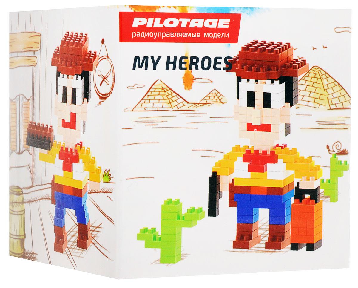Pilotage Конструктор Woody 3 в 1RC18337Конструкторы серии My Heroes представляют новый принцип конструирования различных фигурок и моделей, которые собираются без использования клея из маленьких разноцветных кубиков. Такой набор не только предоставит возможность поставить на полку необычную фигурку или фантастическую модель, но и развить навыки мелкой моторики и внимательность. Теперь у вас появится возможность собрать любимого героя в популярном пиксельном (8-битном) стиле. Конструктор Pilotage Woody включает в себя 231 элемент для сборки и подробную инструкцию.
