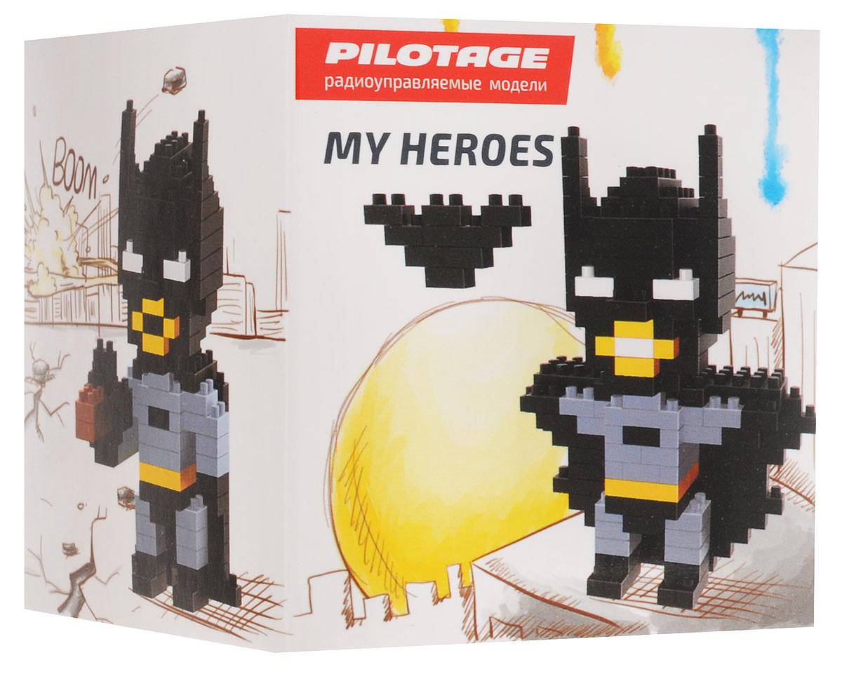 Pilotage Конструктор Batman 3 в 1RC18339Конструкторы серии My Heroes представляют новый принцип конструирования различных фигурок и моделей, которые собираются без использования клея из маленьких разноцветных кубиков. Такой набор не только предоставит возможность поставить на полку необычную фигурку или фантастическую модель, но и развить навыки мелкой моторики и внимательность. Теперь у вас появится возможность собрать любимого героя в популярном пиксельном (8-битном) стиле. Конструктор Pilotage Batman включает в себя 236 элементов для сборки и подробную инструкцию.