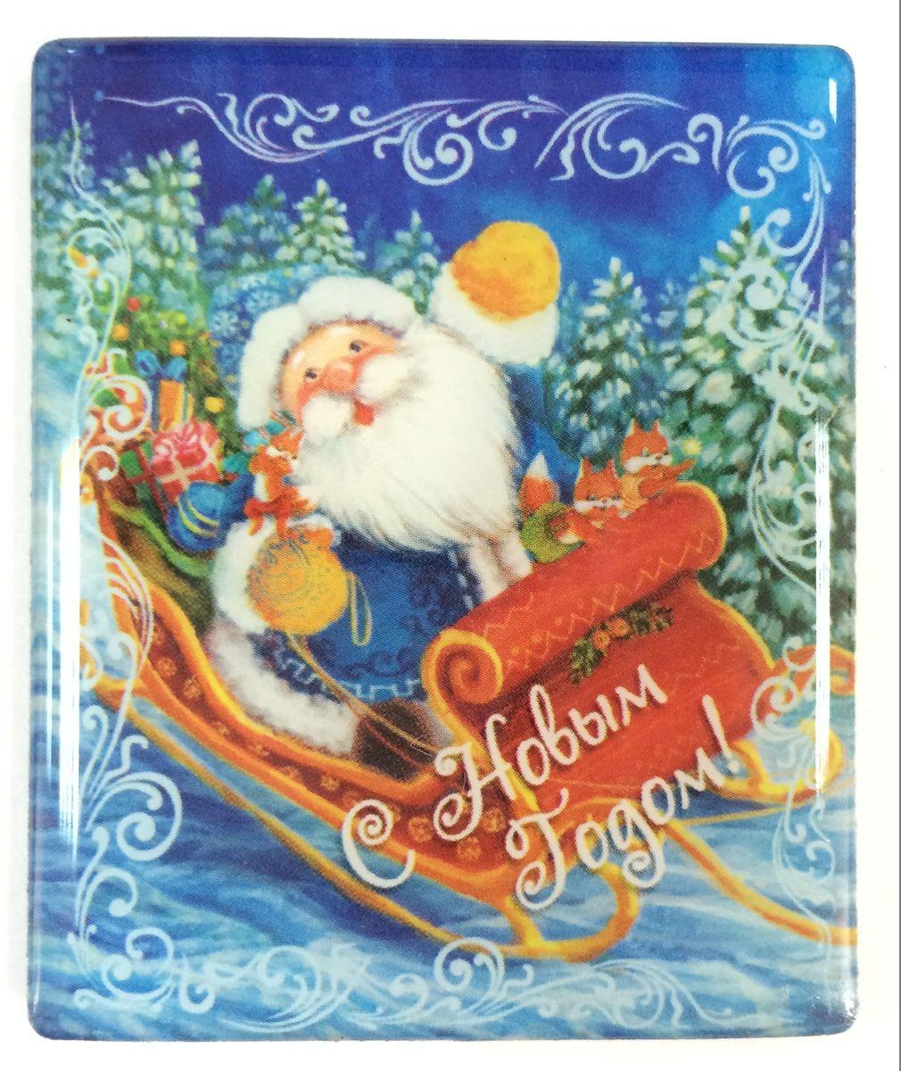 Магнит декоративный Magic Time Дед Мороз в санях, 6 х 5 см. 3837538375Магнит Magic Time Дед Мороз в санях, выполненный из агломерированного феррита, прекрасно подойдет в качестве сувенира к Новому году или станет приятным презентом в обычный день. Магнит - одно из самых простых, недорогих и при этом оригинальных украшений интерьера. Он поможет вам украсить не только холодильник, но и любую другую магнитную поверхность. Материал: агломерированный феррит.
