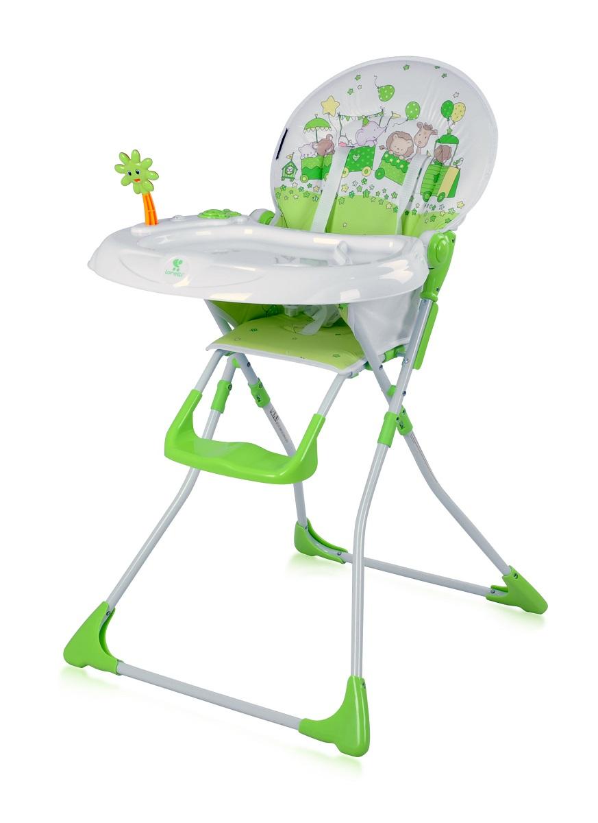 Lorelli Стульчик для кормления Jolly цвет зеленый3800151957232Красивый и опрятный, а еще практичный и такой удобный стульчик для кормления от болгарского бренда Bertoni Jolly завоевал любовь и признание родителей во всей Европе. Cделан из прочного материала, стульчик легкий и компактный, совершенно безопасный для ребенка. Он не займет много места у Вас в квартире, всё это благодаря легкому сложению. Имеет пятиточечные ремни безопасности, они необходимы для того, чтоб ребенок не смог выпасть со стульчика для кормления. Достоинства стульчика для кормления Bertoni Jolly: Конструкция очень прочная и надежная, в сложенном виде занимает мало места, легко транспортируется В производстве использованы только экологичные и безопасные материалы Текстильные части сидения водонепроницаемые, могут мыться Bertoni Jolly имеет 5-точечные ремни безопасности Перед крохой есть пластиковый столик с удобными подставками для чашек и бутылочек Сбоку есть музыкальная игрушка, которая обязательно понравится малышу Есть удобная подставка для ножек Большой поднос может...