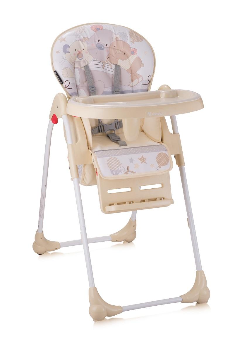 Lorelli Стульчик для кормления Oliver цвет бежевый3800151903680Удобный, мягкий и безопасный детский стульчик Oliver для кормления и игр. Характеристики: Три положения наклона спинки: сидя, полусидя, полулежа Регулировка высоты сиденья - 5 положений Ремень безопасности для пояса и плеч Большой, практичный съемный столик со съемной подставкой для бутылочек Специальный паховый ограничитель, препятствующий соскальзыванию ребенка со стула Укомплектован дополнительным съемным столиком Колеса для удобного перемещения стула Хорошо моющаяся съемная тканевая часть Легко складывается путем одновременного нажатия на 2 кнопки Яркая расцветка ткани, благотворно влияющая на психоэмоциональное состояние ребенка Размеры в разложенном состоянии 101 х 65 х 50 см Стульчик для кормления Bertoni Oliver изготовлен в соответствии с Европейским стандартом безопасности BS EN 14988 (высокие детские стулья), обеспечивая максимальную безопасность и комфорт для вашего ребенка.