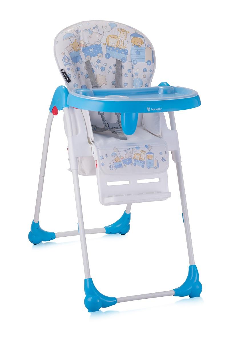 Lorelli Стульчик для кормления Oliver цвет синий3800151903697Удобный, мягкий и безопасный детский стульчик Oliver для кормления и игр. Характеристики: Три положения наклона спинки: сидя, полусидя, полулежа Регулировка высоты сиденья - 5 положений Ремень безопасности для пояса и плеч Большой, практичный съемный столик со съемной подставкой для бутылочек Специальный паховый ограничитель, препятствующий соскальзыванию ребенка со стула Укомплектован дополнительным съемным столиком Колеса для удобного перемещения стула Хорошо моющаяся съемная тканевая часть Легко складывается путем одновременного нажатия на 2 кнопки Яркая расцветка ткани, благотворно влияющая на психоэмоциональное состояние ребенка Размеры в разложенном состоянии 101 х 65 х 50 см Стульчик для кормления Bertoni Oliver изготовлен в соответствии с Европейским стандартом безопасности BS EN 14988 (высокие детские стулья), обеспечивая максимальную безопасность и комфорт для вашего ребенка.