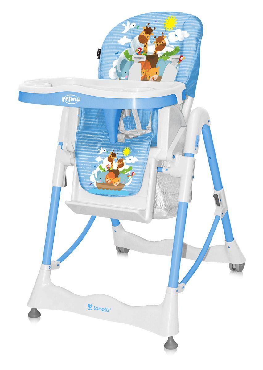 Lorelli Стульчик для кормления Primo цвет синий3800151933717Стульчик для кормления Primo Bertoni - комфортный, функциональный и практичный, компактен в сложенном состоянии, его удобно брать с собой в путешествия. Стульчик безопасный для малыша, ведь он оборудован ремнями безопасности и перегородкой для ножек, которые надежно защитят ребеночка от выпадания из стульчика. Спинка сидения регулируется по углу наклону, она мягкая и удобная, но в тоже время имеет жесткий и устойчивый каркас, поддерживающий спинку ребеночка. Стульчик в зависимости от возраста ребенка, регулируется по высоте в пяти положениях, съемный столик имеет поднос с углублением для чашки или бутылочки. Характеристики: Стул для кормления предусмотрен для деток возрастом – от 6 месяцев до 3 лет. Материал изготовления – металл с ударостойким пластиком. Конструкцией предусмотрены два съемных подноса; поверхность столиков выполнена с фигурами для установки тарелок, салфетниц и чашек. Сидение регулируется по высоте в 5 положениях. Наклон спинки осуществляется в трех уровнях. Имеется...