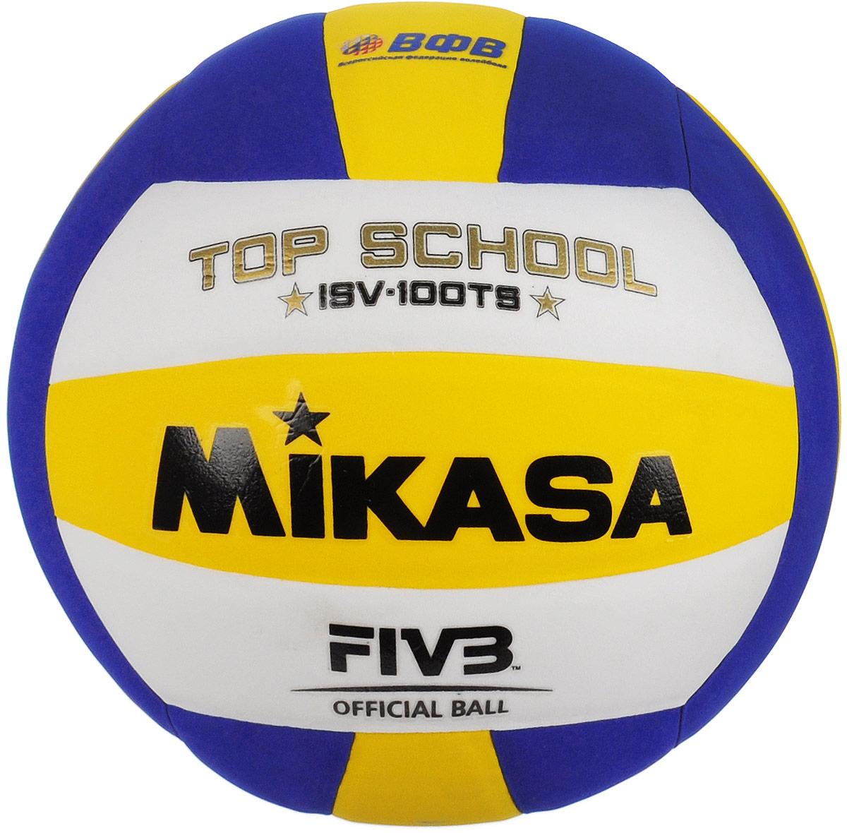 Мяч волейбольный Mikasa ISV 100. Размер 5УТ-00001277Облегченный мяч Mikasa ISV 100 предназначен для начинающих волейболистов и любителей. Изделие выполнено из синтетической кожи. Камера изготовлена из бутила. УВАЖЕМЫЕ КЛИЕНТЫ! Обращаем ваше внимание на тот факт, что мяч поставляется в сдутом виде. Насос в комплект не входит.