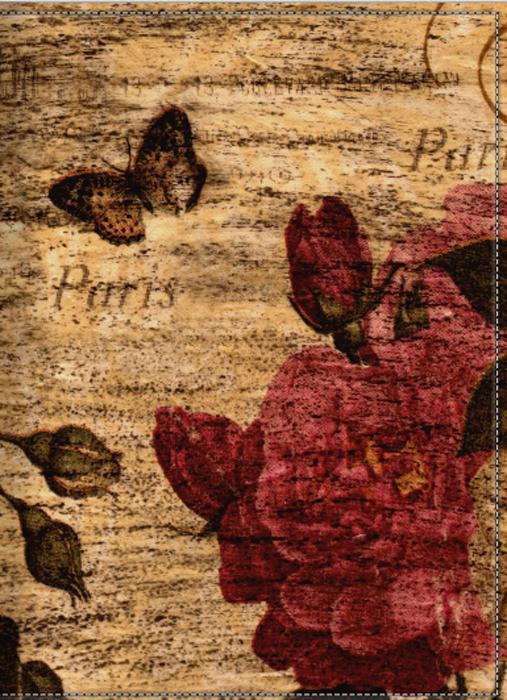 Обложка для паспорта женская КвикДекор Роза шебби-шик, цвет: коричнево-красныйDC-15-0067-1Оригинальная, яркая и качественная обложка для паспорта. Подходит для всех видов паспортов, как общегражданских, так и заграничных. Изображение устойчиво к стиранию. При бережном обращении обложка прослужит долгие годы. Лучший подарок и защита для документа.