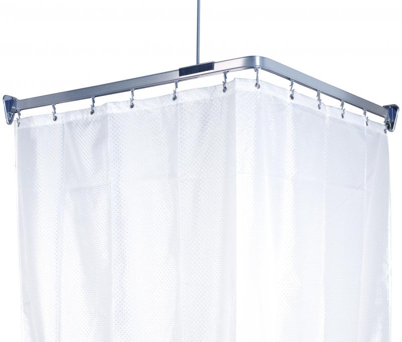 Карниз гибкий для ванной Flex, цвет: хром, длина 300 см688-90Карниз Flex выполнен из алюминия и предназначен для крепления душевой шторки в ванной комнате. В комплект входят три блока по 100 см, 12 крючков, две штанги для крепления уголков к потолку и шурупы. Карниз гибкий, ему легко придать любую форму. На задней стороне упаковки нарисована подробная инструкция по сборке карниза. Максимальная длина карниза: 300 см. Характеристики: Материал: алюминий, пластик. Цвет: хром. Максимальная длина карниза: 300 см. Размер упаковки: 17 см х 104 см х 5 см. Производитель: Швеция. Изготовитель: Китай. Артикул: 688-90.
