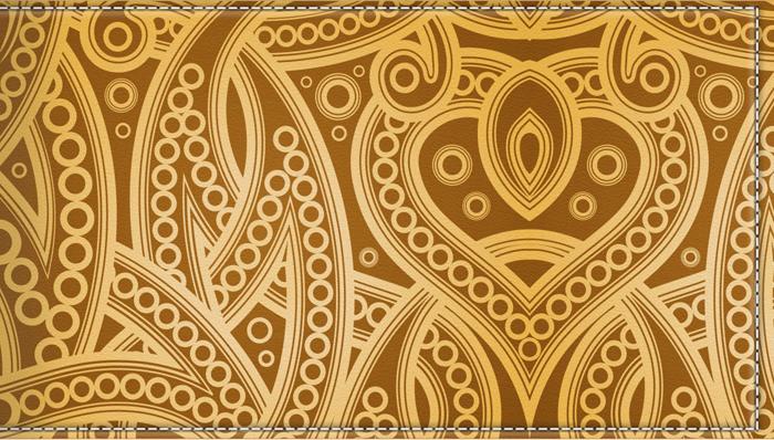 Визитница-картхолдер женская КвикДекор Золотое плетение, цвет: желтый. DC-15-0069-1-18DC-15-0069-1-18Оригинальный, яркий, качественный аксессуар для визиток, дисконтных и кредитных карт с 18 кармашками. Удобная выемка на пластиковом кармане позволяет быстро и легко достать необходимую карту. Изображение устойчиво к стиранию. При бережном обращении визитница прослужит долгие годы. Лучший подарок и стильный аксессуар.