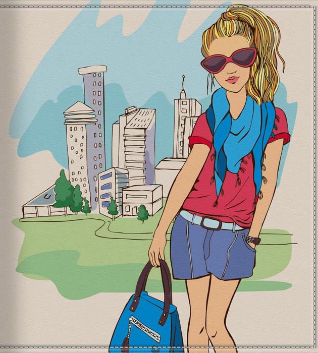 Визитница-картхолдер женская КвикДекор Девушка в городе, цвет: мультиколор. DC-15-0070-1-36DC-15-0070-1-36Дизайнер Ольга Парфёнова. Оригинальный, яркий, качественный аксессуар для визиток, дисконтных и кредитных карт с 36 кармашками. Удобная выемка на пластиковом кармане позволяет быстро и легко достать необходимую карту. Изображение устойчиво к стиранию. При бережном обращении визитница прослужит долгие годы. Лучший подарок и стильный аксессуар.