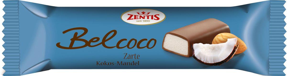 Zentis Belcoco марципановый батончик, 60 г841103Откройте для себя мир сладких удовольствий с Zentis. Наслаждайтесь прекрасными марципанами из отборного миндаля. Zentis предлагает широкий выбор вкусных вариаций на любой вкус и любой случай.