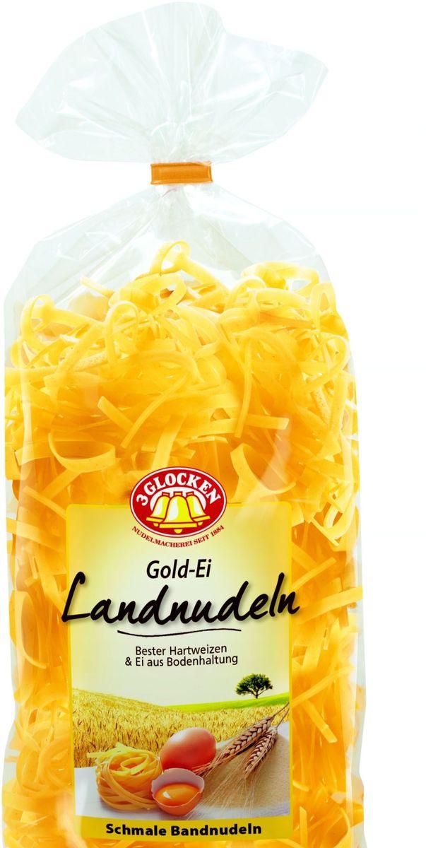 3 Glocken мелкая лапша, 350 г608098Продукция «Три колокольчика» - это макаронные изделия высшего качества, произведенные из 100% твердых сортов пшеницы.